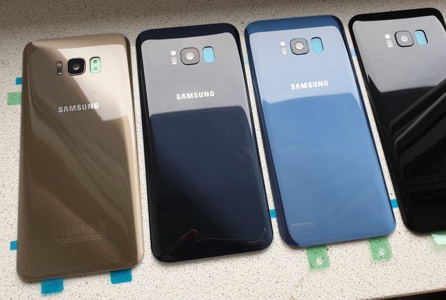 NOWE szkło tył tylne plecki obudowa Samsung Galaxy S8 i S8+ plus