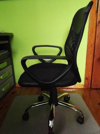 Fotel, krzesło biurowe, obrotowe, komputerowe - stan idealny.