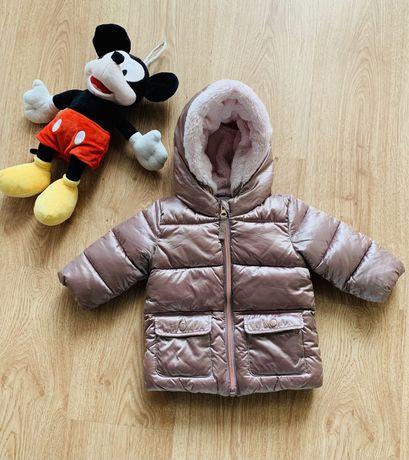 Куртка Next демисезоння, теплая зима для девочки (3-6м)
