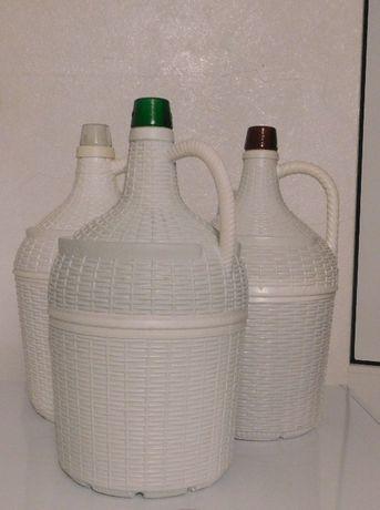 Garrafão Vidro Revestido (plástico) , 5 Litros