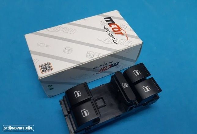 Comando botão vidros Vw Golf V Passat Touran Tiguan  Ibiza 6J  Altea  NOVO