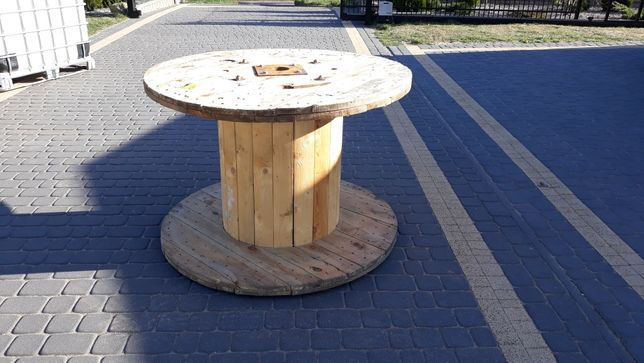 Stół ogrodowy / bęben