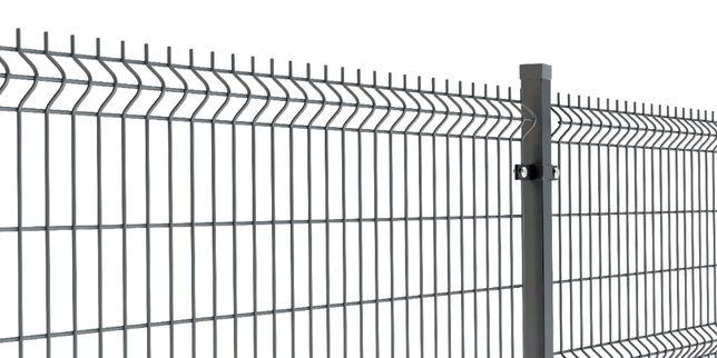 Panel 3D 153cm RAL7016, OC+RAL, panele ogrodzeniowe, ogrodzenie