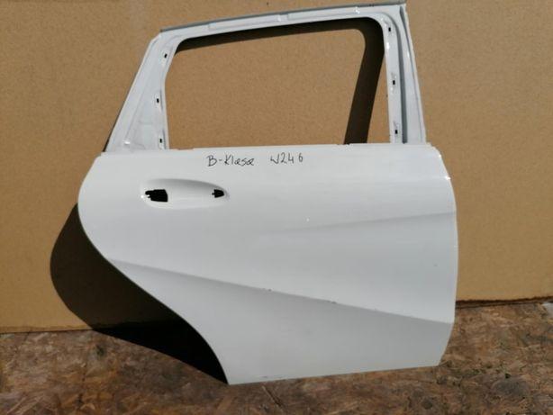 Drzwi tył prawe Mercedes W246 B-Klasa Białe 12r-