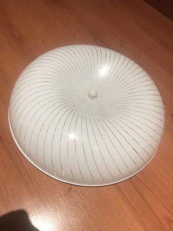 Apique teto com lampada redonda flurescente (novo)