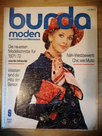 Burda oryginalna niemiecka od 1969 do 1989