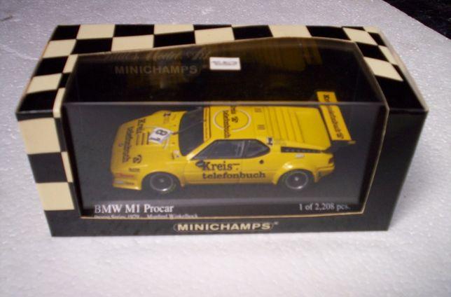 1/43 BMW M1 Procar 1979 - Minichamps