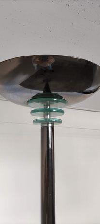 Lampa stojąca w chromie