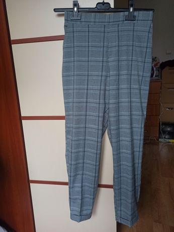 Spodnie w kratkę rozmiar M Nowe Sinsay