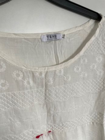Blusa branca M/ L