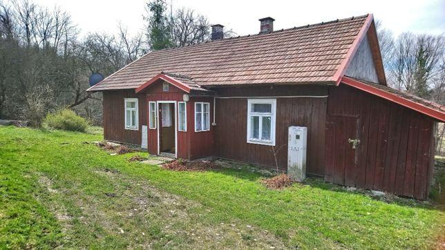 Dom drewniany - sprzedam
