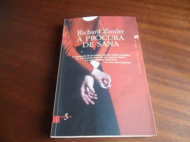 """À Procura de Sana"" de Richard Zimler"