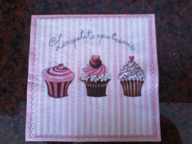 Quadro / Tela - Cupcake (feita à mão) - NOVA - Baratíssima