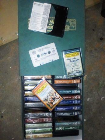 Kasety magnetofonowe złota kolekcja muzyki ludowej 27 szt.