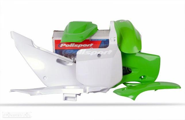 kit plasticos polisport kawasaki klx 110