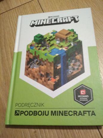 Książka Minecraft podbój Minecrafta