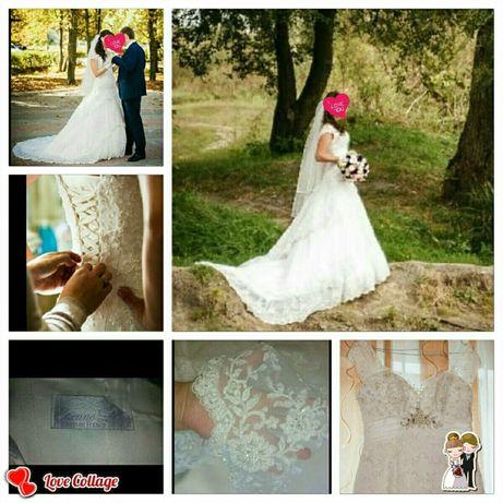 Свадебное платье премиум класса, французского дизайнера