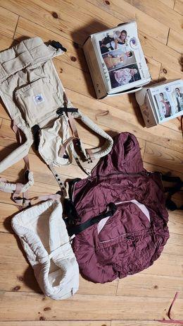 Продам эрго-рюкзак Ergo baby с вкладышем для новорожденного и утеплите