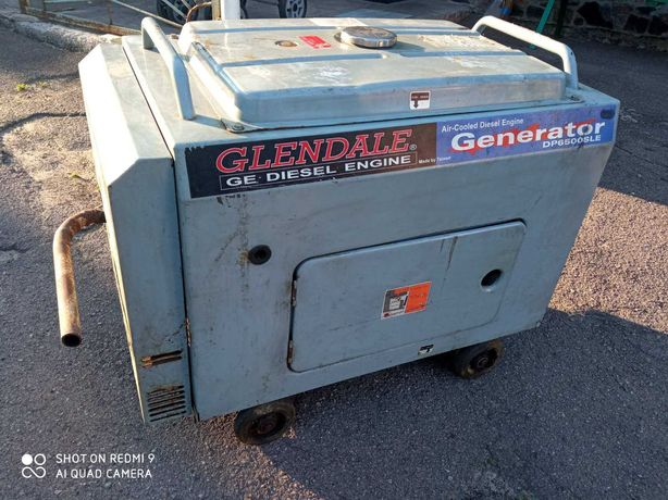 Дизельный генератор Glendale DP6500SLE