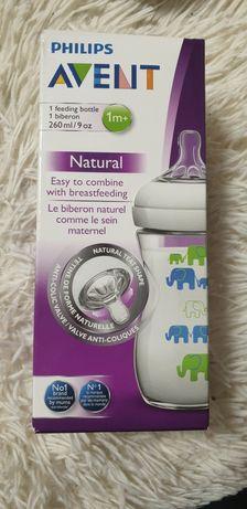 Бутылочка для кормления PHILIPS Avent Natural c 1 месяца 260 мл