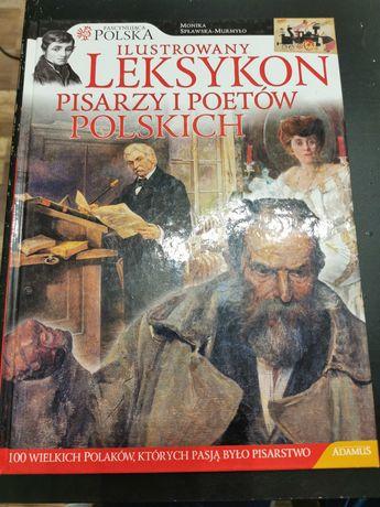 Ilustrowany leksykon pisarzy i poetów polskich Adamus nauka historia