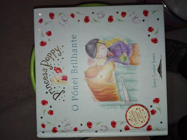 Vendo livro da poppy: o pônei brilhante( Já com portes)