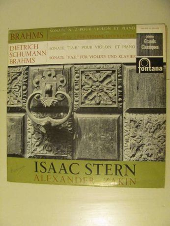 LP Vinil - Isaac Stern toca sonatas de Brahms