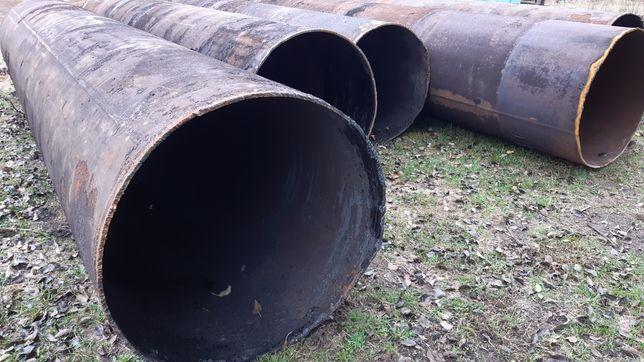 Труба металлическая 1020мм, стенка 12мм, труба диаметром 1м, порезка