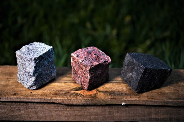 Kostka Granitowa |szara, czerwona, czarna| TRANSPORT