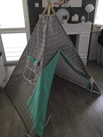 Namiot tipi uniwersalny dla chłopca i dziewczynki