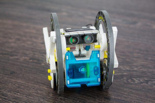 Робот по суше и воде / 14в1 - конструктор на солнце, от 10 лет / 2 уро