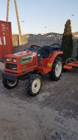 traktorek japoński hinomoto n 179 4x4 glebogryzarka kultywator zestaw