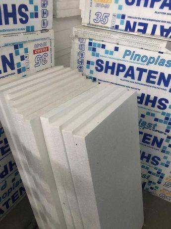 Пінопласт ПСБ-С Ферозіт 35/5 SHPATEN EXTRA (1,0х0,5)