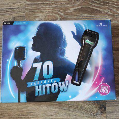 Gra PC Karaoke 70 hitowy + mikrofon