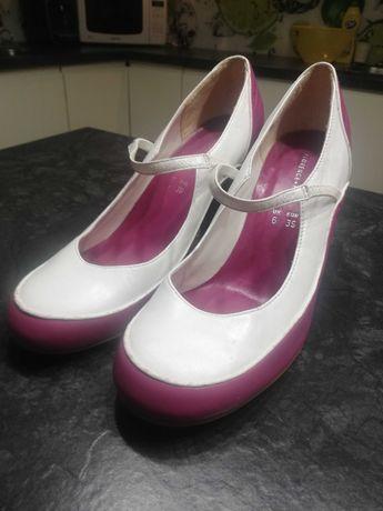 Skórzane buty Florance+Fred rozm. 39