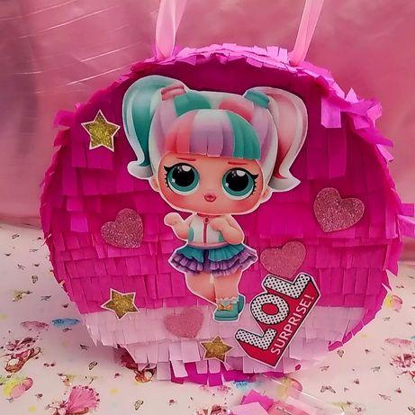 "Пиньята куклы ""Лол""  конфетти в подарок."