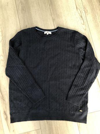 Granatowy sweter hampton republic kappahl xl wełna