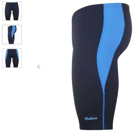 Плавки удлиненные мужские темно-синие Waikoa 2XL оригинал
