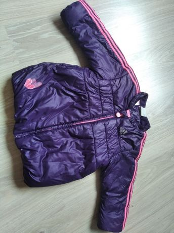 Куртка Adidas 9-12-18 месяцев. Рост 80 демисезон