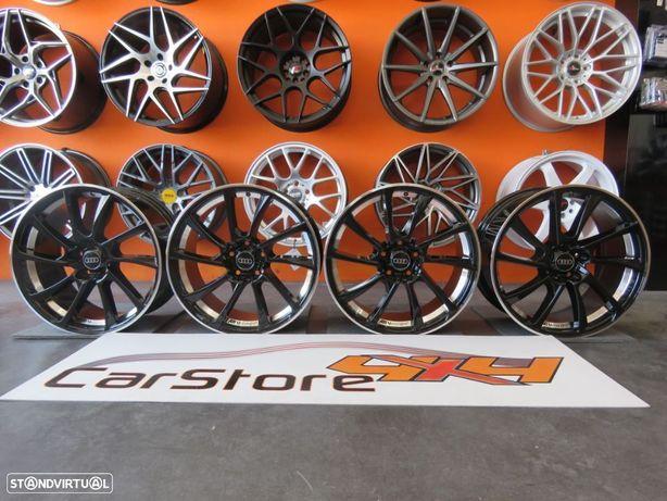 Jantes Look Audi ABT DR18 17 x 7.5 et35 5x112 Preto Brilhante