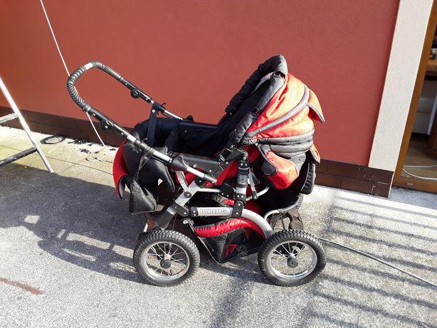 Wózek dziecięcy na dużych kołach!!!