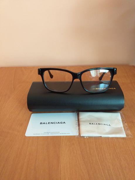 Balenciaga oryginalne nowe damskie oprawki okulary korekcyjne z etui
