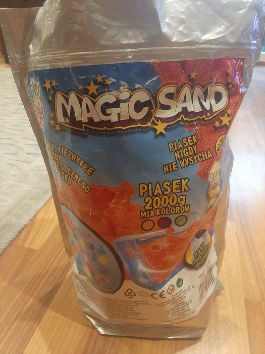 Magic Sand piasek kinetyczny 3 kolory + basen i foremki Sulejówek - image 1