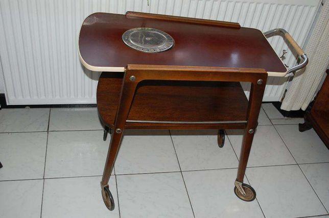 barek na kółkach z podgrzewaczem - vintage
