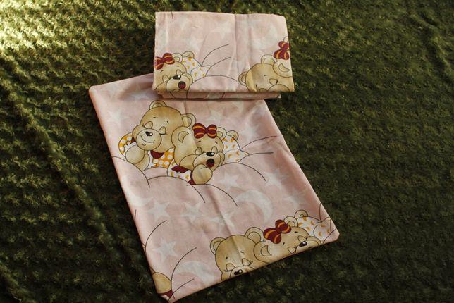 Дитячий набір детский набор(защита на кроватку,балдахин,пост.комплект)