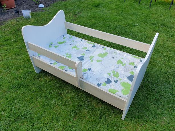 Łóżko z materacem 120×60