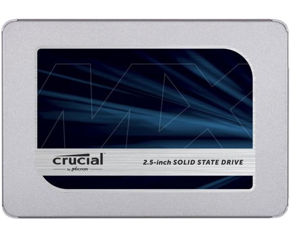 Disco SSD Crucial MX500 (250GB, 500GB, 1TB, 2TB) (NOVO/SELADO)