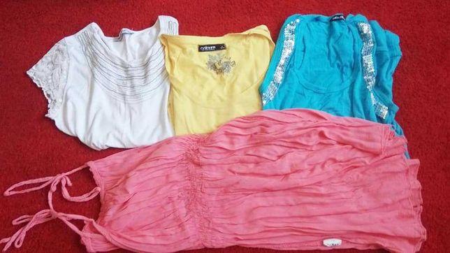 Bluzki, koszulki damskie rozmiar M/L