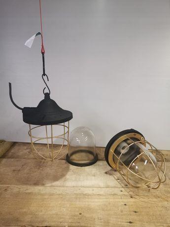 Lampy przemysłowe retro