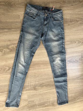 Spodnie jeansowe, jeansy 36/38 rurki